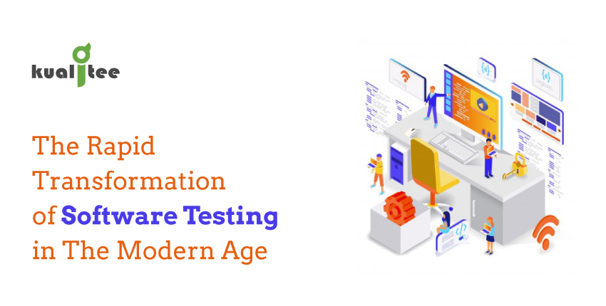 Rapid Transformation of software testing