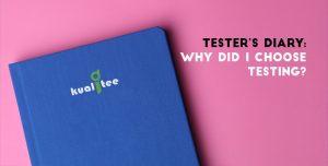 Why Did I Choose Testing