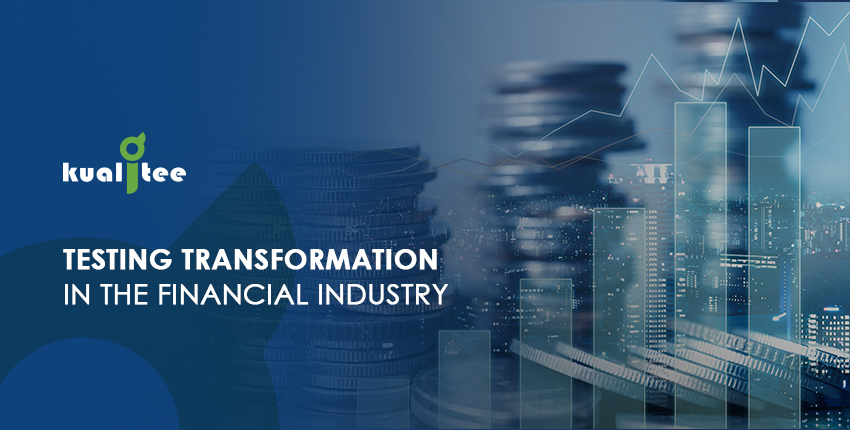 test Transformation in the Financial Services Domain